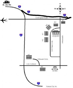 KCI Expo Location Map